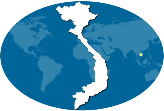 bản đồ thuê xe du lịch Việt Nam